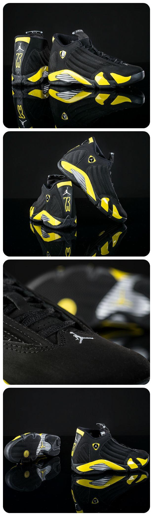 Ferrari-inspired Jordan shoes speed back onto the scene. Get details on the Retro 14 here! #Sneakers