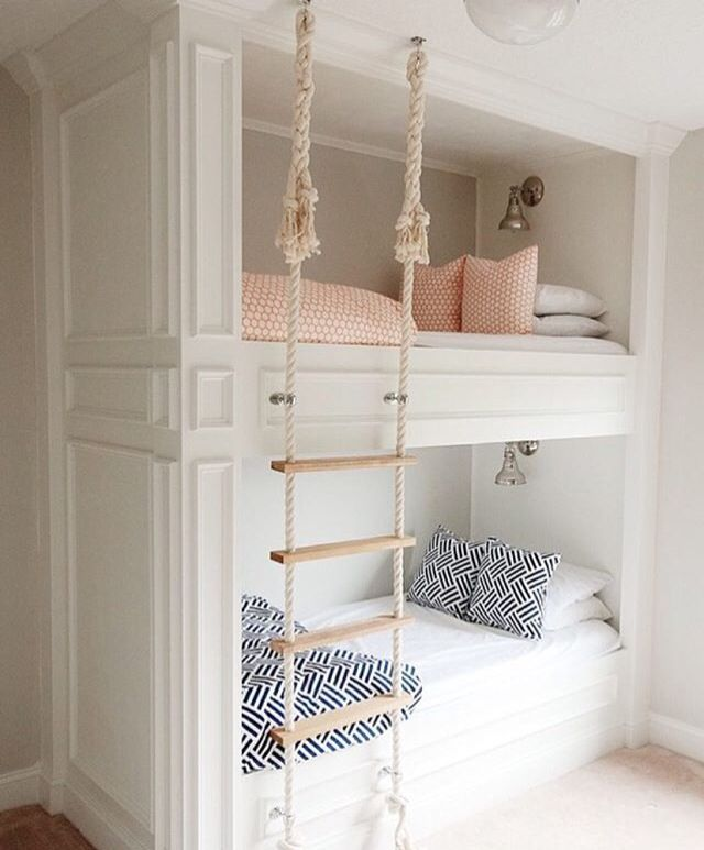 Bunk Bed Ideas Part - 26: 1638 Best Bunk Bed Ideas Images On Pinterest | Bunk Beds, Child Room And  Bedroom Ideas