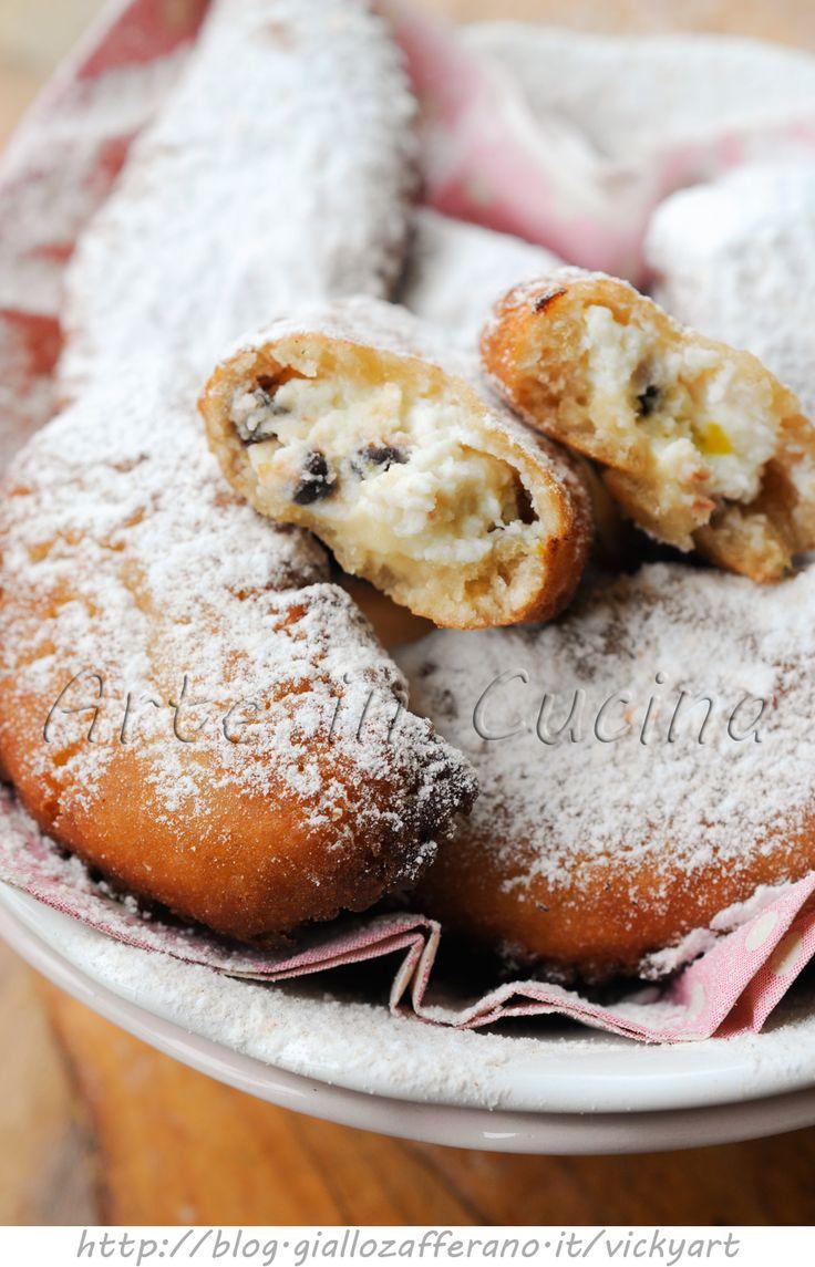Cassatelle siciliane alla ricotta dolci di Carnevale vickyart arte in cucina