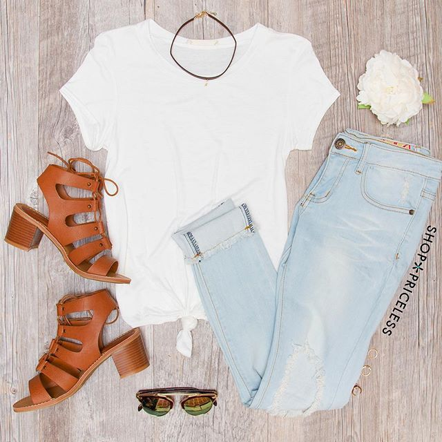 Our Amor Mio Top has arrived in white!  #ShopPriceless #NewArrivals ✨www.ShopPriceless.com✨