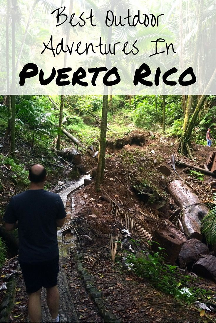 Want to swim in a waterfall or sail the Caribbean? Don't miss out on Puerto Rico and all the nature adventures you can have on the island. Things to do outdoors in Puerto Rico: