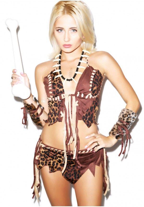 Sexy Cavewoman Costume | Dolls Kill
