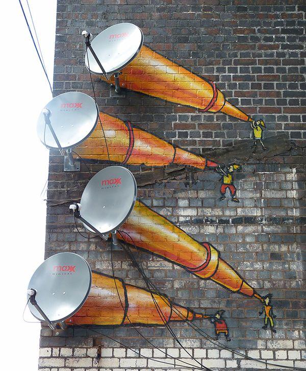 Más allá de las antenas - Anónimo - Birmingham, Reino Unido