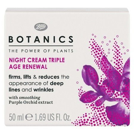 Botanics Triple Age Renewal Night Cream - 1.69 oz : Target