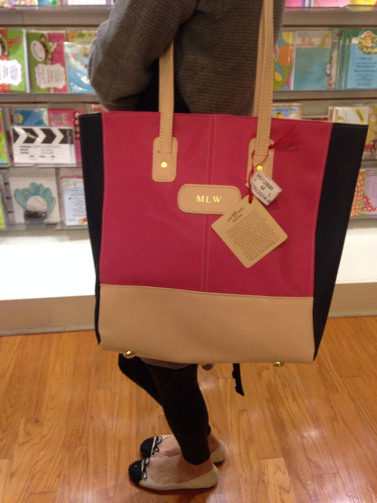 jon hart totes for college at paper affair plano