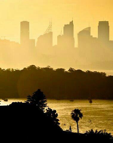 Perth, Western Australia.  Sunset.