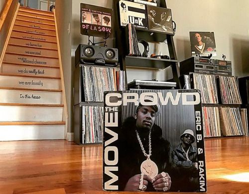 When payday lands on #hiphopfriday.youre paid in full. This gorgeous piece is from my original collection (1987); #MoveTheCrowd on side 1 & #PaidInFull side 2. #nowspinning #EricBandRakim via Audiophiles on Instagram - Best Sound Quality Audiophile Headphones and High-Fidelity Premium Earbuds for Hi-Fi Music Lovers by AudiophileCans