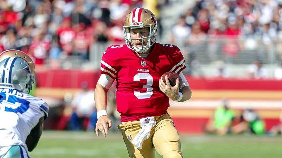 Kyle Shanahan says C.J. Beathard will learn from his first NFL start