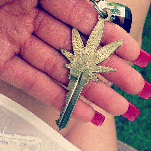 I want one. Marijuana Key  http://www.stonernation.com