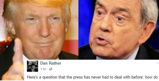 Trump Said He Wants To Imprison Flag Burners. Dan Rather's Response Is Perfect