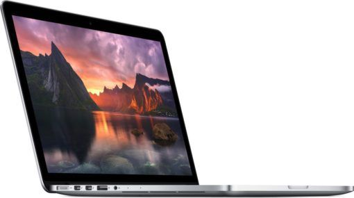 Apple MacBook Pro with Retina Display 13-inch Laptop (Intel Core i5 2.7 GHz, 8 GB RAM, 128 GB, Intel Iris, macOS) – Silver – 2015 – MF839B/A