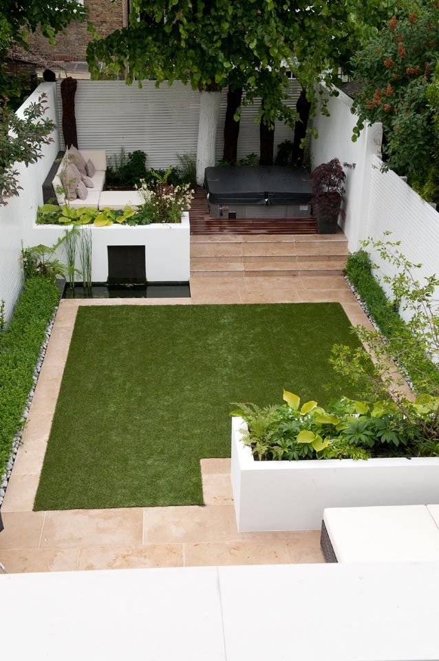 Wandsworth garden designed and built by by Belderbos Landscapes. #patio #backyard #outdoor
