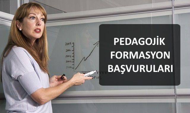 Pedagojik Formasyon Başvuruları Hakkında