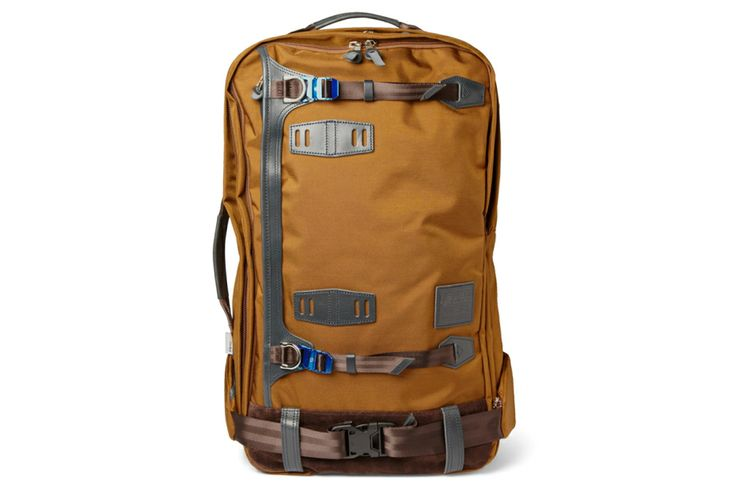 master-piece Potential Leather-Trimmed Cordura Backpack