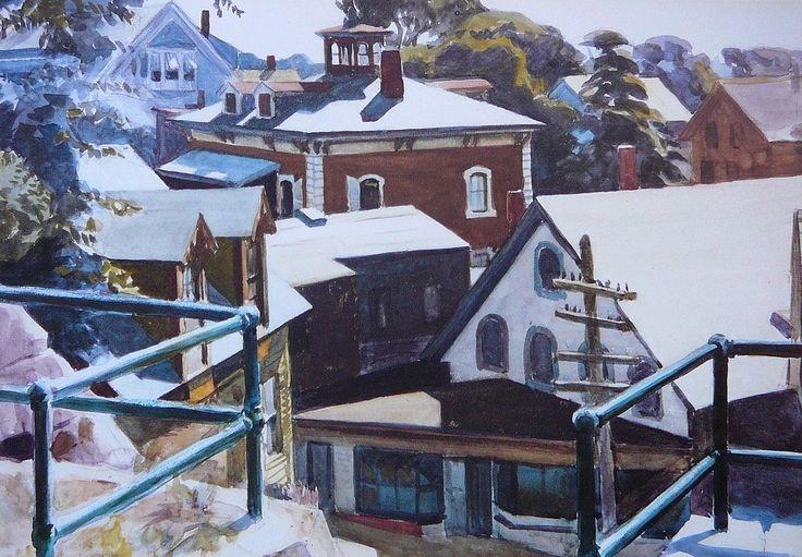 Edward Hopper - Gloucester Roofs