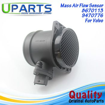 UPARTS OEM MASS AIR FLOW METER MAF SENSOR FOR 1998-2006 VOLVO S80 2.8 T6 0008670113/86701130 BOSCH 0280218109/0280218046