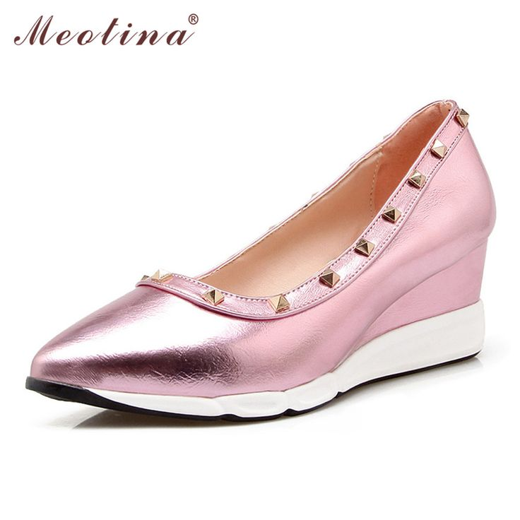 >>>Order2016 New Design Platform Wedges High Heels Shoes Women Rivets Wedge Heels Pointed Toe Ladies Shoes Sliver Pink Gold Size 34-392016 New Design Platform Wedges High Heels Shoes Women Rivets Wedge Heels Pointed Toe Ladies Shoes Sliver Pink Gold Size 34-39This is great for...Cleck Hot Deals >>> http://id317249056.cloudns.ditchyourip.com/32729082692.html images