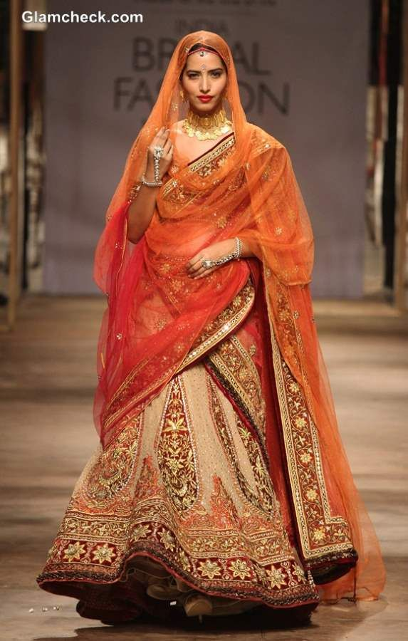IBFW 2013 Tarun Tahiliani Bridal Wear Collection