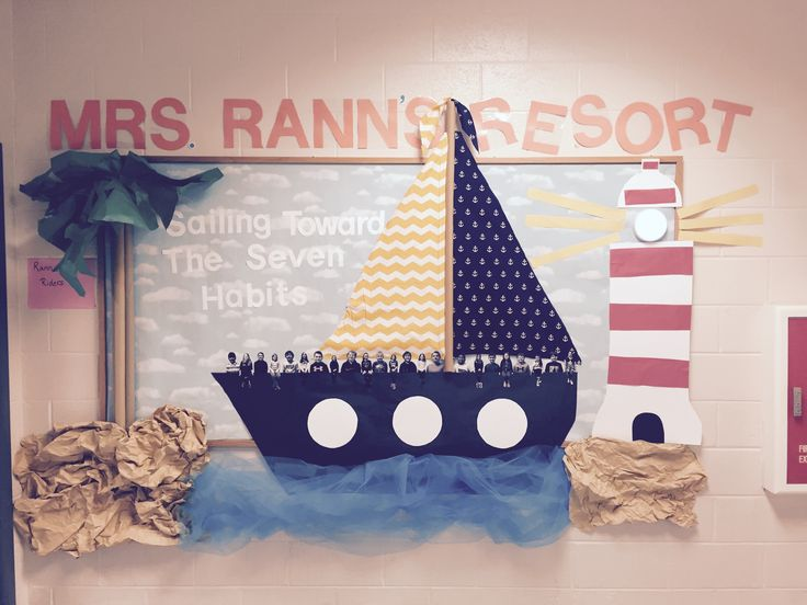 Nautical Bulletin Board  Seven Habits