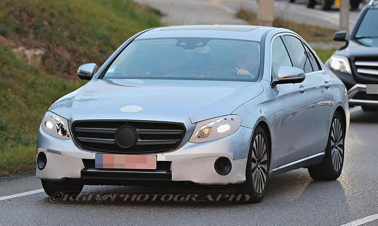 2017 Mercedes-Benz E-class spy photos 1 of 15 NextLast  The next-generation, 2017 Mercedes-Benz E-class sedan will look strikingly similar to the company's flagship S class, based on new spy photos. The redesigned E class, a mainstay of Mercedes' sedan lineup, will feature a sloping front end, and side and rear panels that resemble a smaller S class compared with the current E class, which is boxier, especially in the rear, the photos show. It will be introduced at the 2016 Detroit auto…