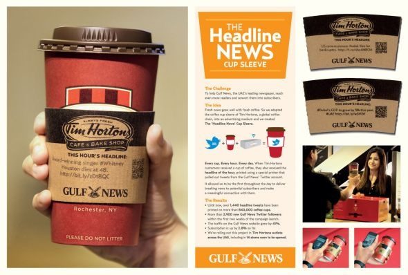 best solution for read news while drinking morning coffee.