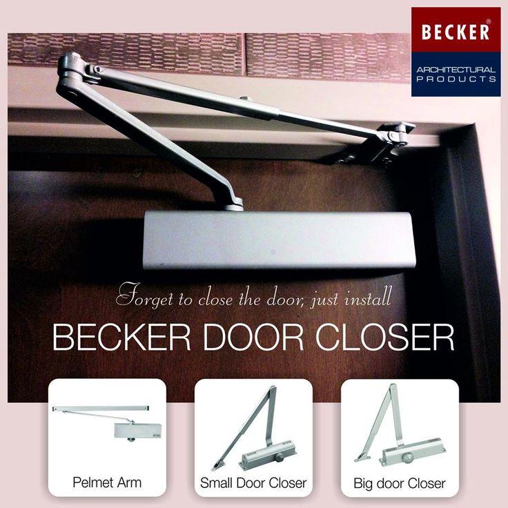 Forget To Close The Door Just Install Becker Door Closer Hinges Pans Becker Architect Kitchen Hardware Handle Small Doors Big Doors Closed Doors