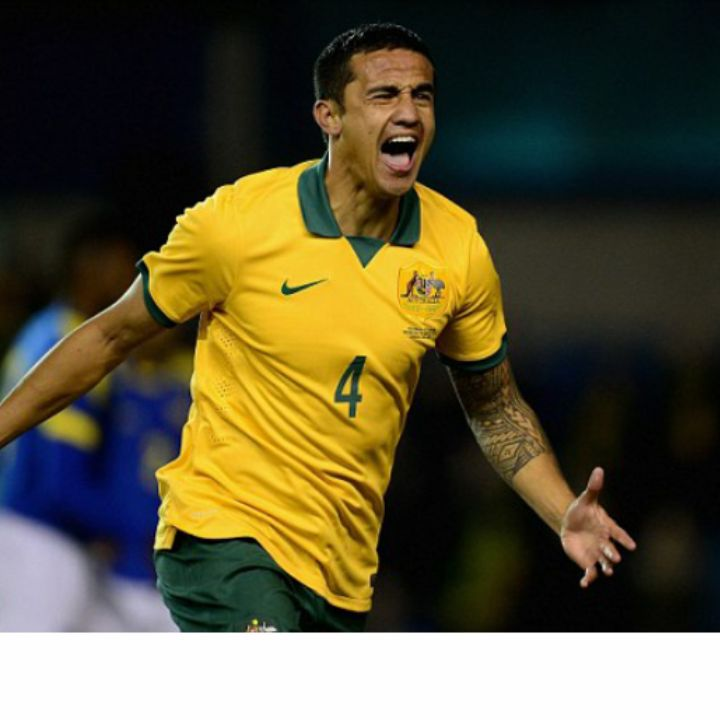 Tim Cahill ~~ 8 years ago scored Australia's first goal in a work cup. It was then, watching it live I knew I was watching someone very special ~~
