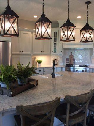 Love This Kitchen Island Lighting Ideas (31)