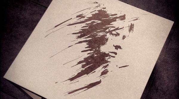 not today by teokon , via Behance  #teokon #woodcuts #abstract #face #