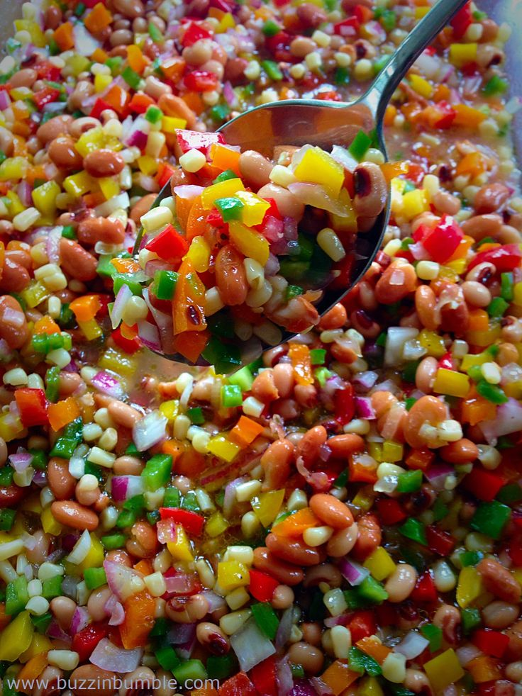 BuzzinBumble: Texas Caviar Recipe (and the Giveaway Winner too!)