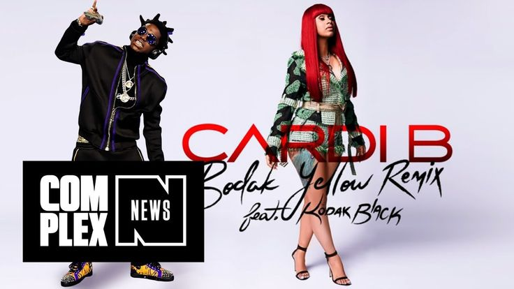 "Kodak Black Finally Remixes Cardi B's ""Bodak Yellow"""