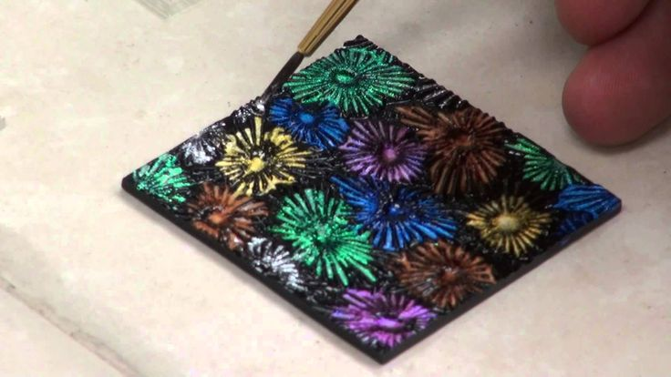 CBS Dichroic Extract - Fireworks Pendant