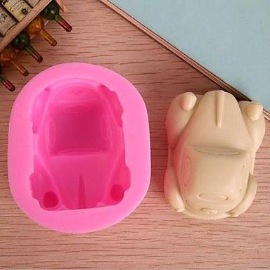 auto vormige fondant cake chocolade siliconen mal, cupcake decoratie gereedschappen, l9cm * w7.5cm * h4.5cm – EUR € 10.99