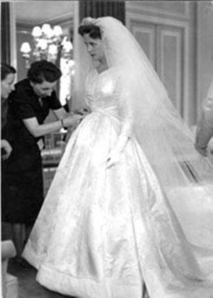 Marie-Thérèse duchesse de Wurtemberg jour de son mariage avec le ...