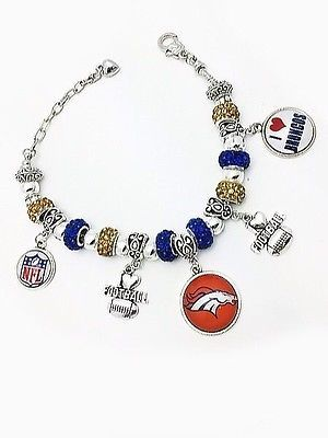Bracelet: Sports celebration for the FAN-tastic Denver Broncos!