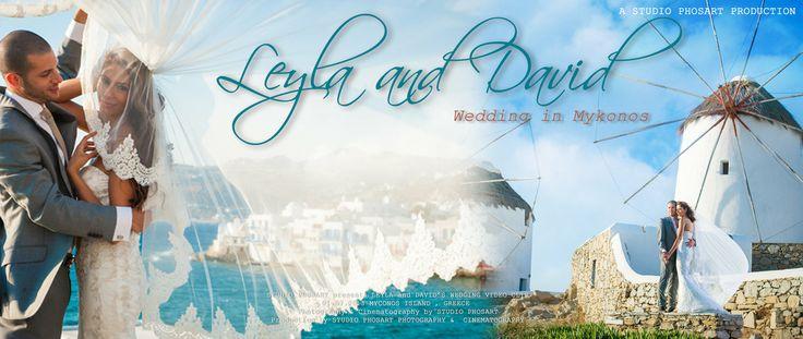 Wedding in Mykonos Greece | Leyla & David | Wedding Video Clip #wedding #greece #highlights #couplefromengland #st.johnresort #mykonos #mikonos #myconos #myconoswedding #photographergreece #photographermykonos