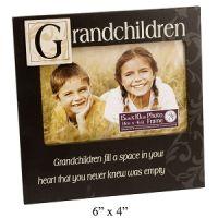 New View MDF Sentiment Stamp Photo Frame - Grandchildren - Detailed item view - Aromaroma