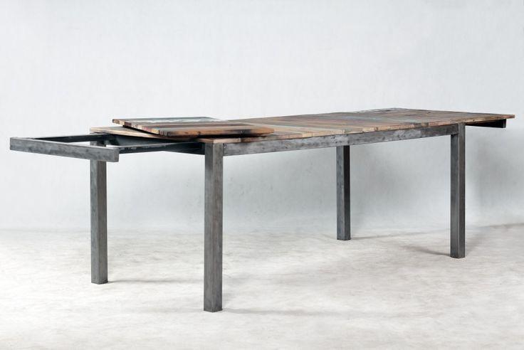 Table rectangulaire avec rallonges EDITO