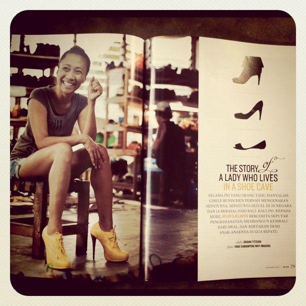 Niluh, awesome shoe designer