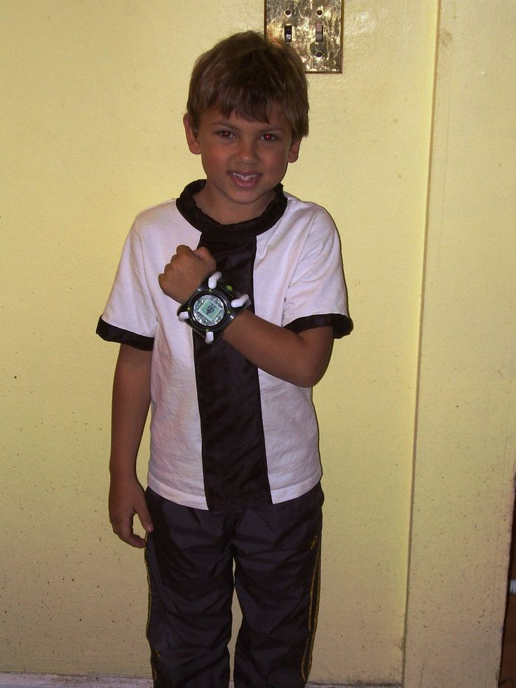 Ben 10 Costume Ben 10 Sewing Projects Sewing