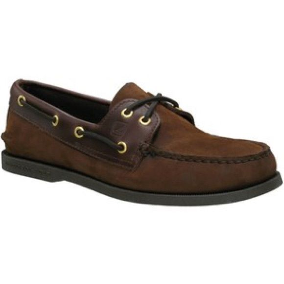 Brown suede and leather sperry men's 7 WOMENS 8.5. Women's SperrysSperry  Top Sider ...