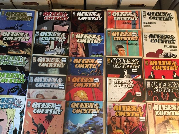 Lot of 25 QUEEN & COUNTRY Comics Oni Press Nice copies See Photo!: $4.09 (0 Bids) End Date: Friday Mar-2-2018 21:50:58 PST Buy It Now for…