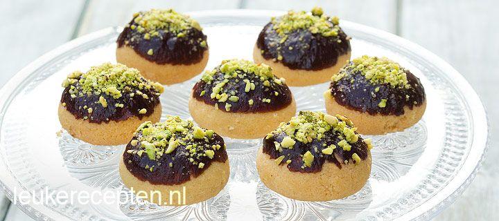Chocolade pistache koekjes