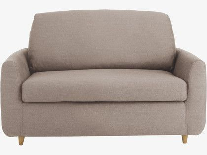 HONOVI Natural Fabric Compact Sofa Bed