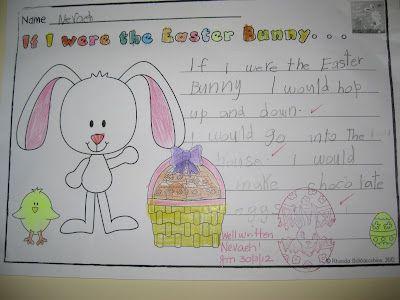 Classroom Fun: Easter Bunny Glyph