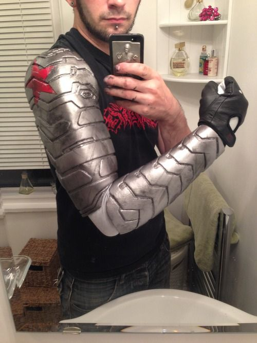 Winter Soldier Arm tutorial using worbla, by Sketch McDraw