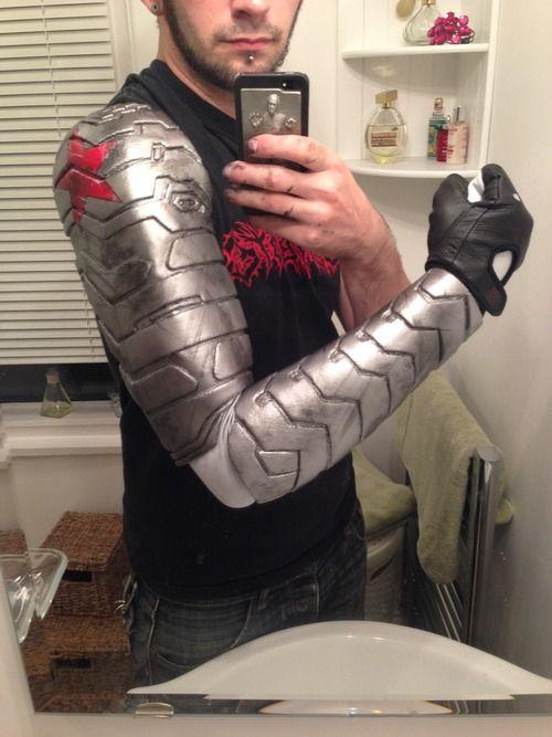 Winter Soldier Arm tutorial using worbla, by Sketch McDraw