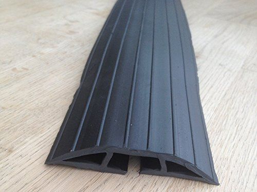 From 17.50:Bimi Extra Long 2m Black Rubber Floor Cable Wires Safety Cover