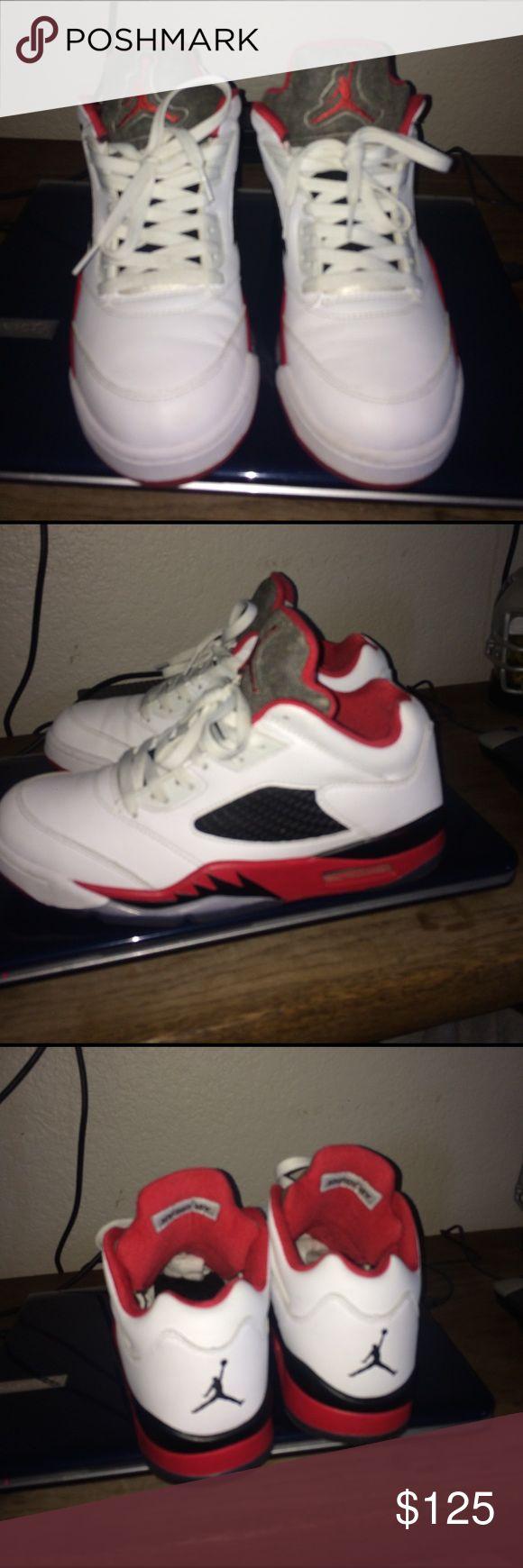 Jordan low 5s size 9.5 8/10 condition size 9.5 jordan 5 low Jordan Shoes