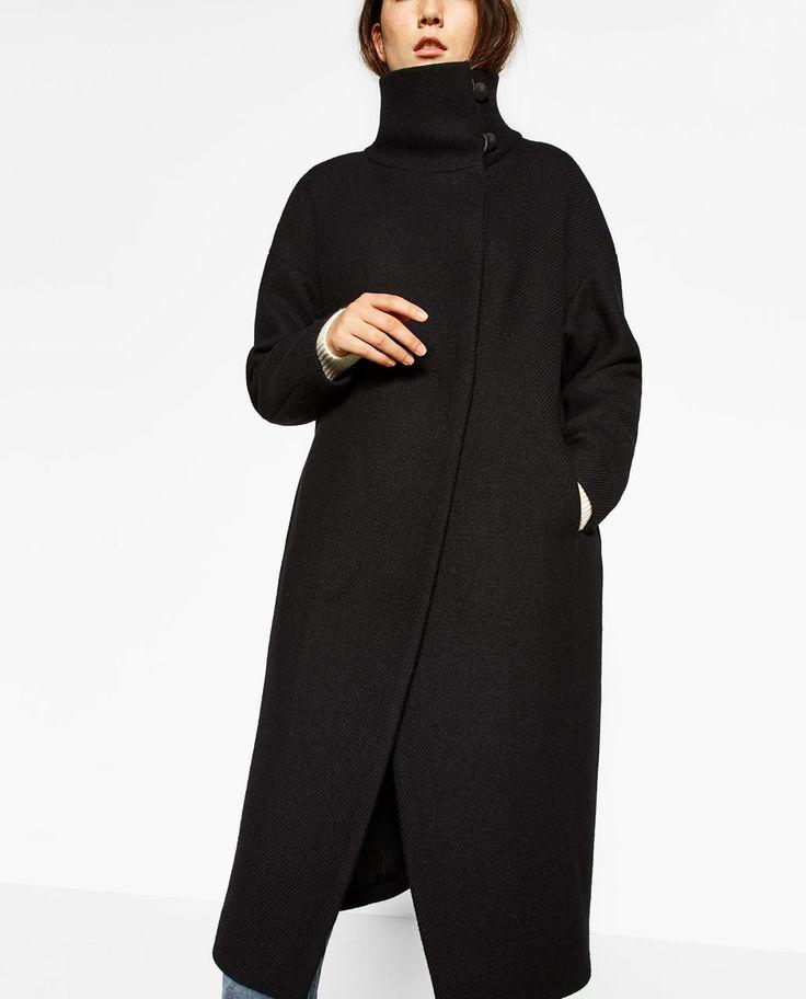 ZARA - WOMAN - FUNNEL COLLAR COAT